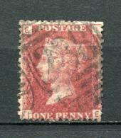 Great Britain Nr.16 Platte:202     (I-E)      O  Used      (1195) - 1840-1901 (Victoria)