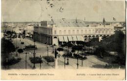 Havana Habana Cuba Parque Central Y Albisu Teatro - Cuba