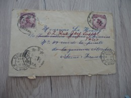 Chine China Letter 1920 With 2 Olds Stamps For France Paypal Ok Out Of Europe - Chine