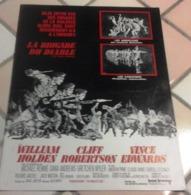 "Dossier De Presse ""La Brigade Du Diable"" William Holden Cliff Robertson Dana Andrews Vince Edwards Andrew Mac Laglen - Werbetrailer"