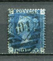 Great Britain Nr.17 Platte:14     (R-G)      O  Used      (1208) - 1840-1901 (Viktoria)