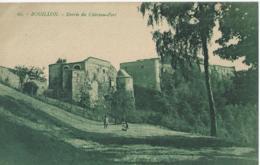 Bouillon - Entrée Du Château-Fort - Editeur A. Suzaine Fils, Sedan No 61 - 1923 - Bouillon