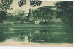 Bouillon - Le Semoy Et Le Château (vue Prise Du Passage D'eau) - Editeur A. Suzaine Fils, Sedan No 76 - 1923 - Bouillon