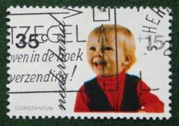 35 + 15 Ct Kinderzegel Child Welfare Kinder Enfant NVPH 1022 (Mi 1003) 1972 Gestempeld / USED NEDERLAND / NIEDERLANDE - Period 1949-1980 (Juliana)