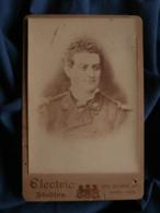 Photo Cabinet Electric Studios Sydney - Militaire, Musicien Des Troupes De Marine  Circa 1880 L469 - Photos