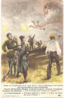 """LE CAUCHEMAR DE L'EUROPE - Peuples Des Balkans : """"C'est De Lui Que Nous Viennent Nos Insomnies"""" - (ELD) - F. RÉGAMEY - Weltkrieg 1914-18"""