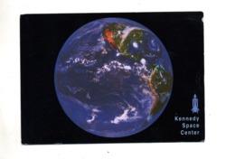 Carte Vue Terre  Centre Nasa Kennedy Cachet Rouge Sur Sam Rose + Ostermundigen - Autres