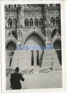 Campagne De France 1940 - Amiens - Parvis De La Cathédrale Notre-Dame D'Amiens - Wehrmacht Im Vormarsch - Westfeldzug - War, Military