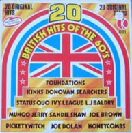* LP *  20 BRITISH HITS OF THE 60' S - KINKS, DONOVAN, STATUS QUO, SEARCHERS, SANDY SHAW A.o. (Holland EX!!!) - Hit-Compilations