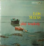 * LP * LOS MAYAS - PLAY TENDERLY (Holland 1967) - Wereldmuziek
