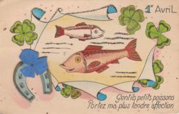 Poissons D'avril : 1ér Avril : Paillettes Et Découpis : Gentils Poissons ..... - 1 De April (pescado De Abril)