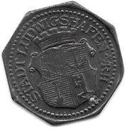 *notgeld  Ludwigshafen 10 Pfennig ND //o.j.  Zn   F308.2 - [ 2] 1871-1918 : Imperio Alemán