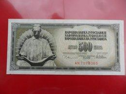Yugoslavia-Jugoslavija 500 Dinara 1978, P-91a - - - 100374 - - - - Jugoslavia
