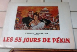 "Dossier De Presse ""55 Jours De Pékin"" Charlton Heston Ava Gardner David Niven - Werbetrailer"