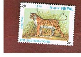 NEPAL  -  SG 321   - 1975  ANIMALS: BENGAL TIGER      -  USED ° - Nepal