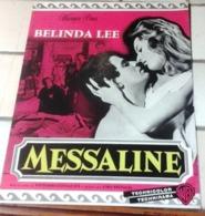 "Dossier De Presse Peplum ""Messaline"" Belinda Lee Spiros Focas Vittorio Cottafavi Lettre Warner Bros - Werbetrailer"
