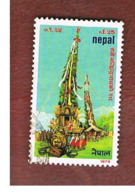 NEPAL  -  SG 379   - 1979  BHOTO JATRA FESTIVAL   -  USED ° - Nepal