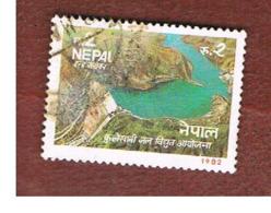 NEPAL  -  SG 428   - 1982  KULEKHANI HYDROELECTRIC PROJECT -  USED ° - Nepal