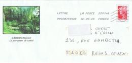SARRY (Marne) Le Parcours De Santé - Postal Stamped Stationery