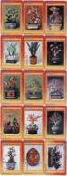 F02082 China Phone Cards Bonsai 15pcs - Fleurs