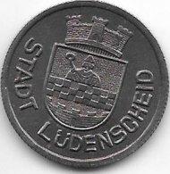 *notgeld  Ludendcheid 50 Pfennig 1919.  Fe   F309.5 - [ 2] 1871-1918 : Imperio Alemán