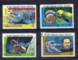 GUINEA EQUATORIALE - 1978 - Lotto 4 Francobolli Tematica Spazio - Usati - (FDC17497) - Guinée Equatoriale