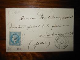 Enveloppe GC 895 Charenton Du Cher - 1849-1876: Période Classique
