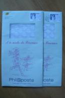 Entier Postal Phil@poste - 2 Exemplaires - Neuf & Oblitéré -  A La Mode De Provence - Postal Stamped Stationery