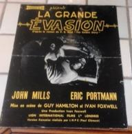 "Dossier De Presse ""La Grande Evasion The Colditz Story"" John Mills Eric Portmann Guy Hamilton - Werbetrailer"