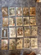 Lot De 100 Cartes Fantaisies - ENFANTS - Fantaisies