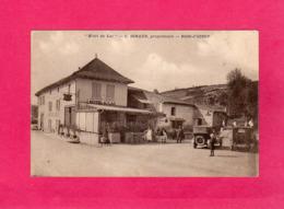 62, Pas-de-Calais, BOIS-d'OINGT, Hôtel Du Lac, C. Giraud, Propriétaire, Animée, Voitures Anciennes, Note De Frais - Sonstige Gemeinden