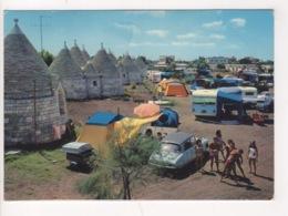 ^ BARI CAMPING INTERNAZIONALE SAN S.GIORGIO CITROEN PALLAS AUTO CAR PANORAMA 70 - Autres Villes