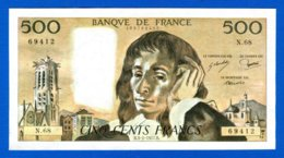500 Fr 3/2/1977 - 1962-1997 ''Francs''