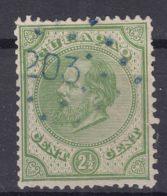 Netherlands Curacao 1876/83 2,5 Cents Green Mi#1 Or 7 Used - Curaçao, Antilles Neérlandaises, Aruba