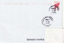 13091  TEAVAROA - TAKAROA - TUAMOTU - POLYNÉSIE FRANÇAISE - LINÉAIRE - Lettres & Documents