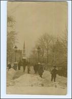 U8737/ Riga Im Winter Foto AK 1917 Lettland  - Lettonia