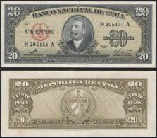 Cuba P 80 C - 20 Pesos 1949 - UNC - Cuba