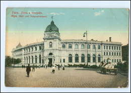 U8734/ Riga  Post- Und Telegraphenamt AK 1916 Lettland  - Lettonie