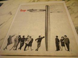 ANCIENNE PUBLICITE STYLO BILLE DE BAIGNOL ET FARJON 1961 - Other Collections