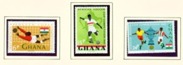 GHANA  -  1965 Football Set Unmounted/Never Hinged Mint - Ghana (1957-...)
