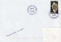 13095  TEARAVERO - KAUEHI - TUAMOTU - POLYNÉSIE FRANÇAISE - LINÉAIRE - Lettres & Documents
