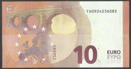 NEW - TD -  T004 G5  - 10 EURO - DRAGHI -  IRLANDE - IRELAND - TD0924236083   UNC - FDS - EURO