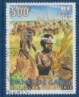 """Nle-Caledonie YT 721 """" Danses """" 1996 Oblitéré - Neukaledonien"""