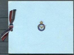 Royal Air Force X 3 RAF Christmas Cards. - Documents