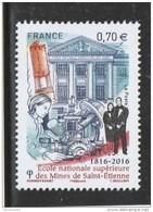 FRANCE 2016 ECOLE NATIONALE SUPERIEURE DES MINES DE SAINT ETIENNE NEUF** YT 5066 - France