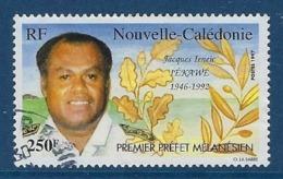 """Nle-Caledonie YT 734 """" Jacques Ieneic Iékawé """" 1997 Oblitéré - Neukaledonien"""