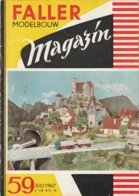 FALLER MODELBOUW MAGAZIN Nr 59 Juli 1967 - Revues