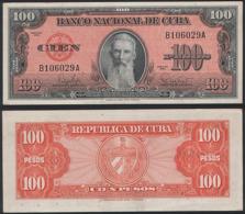 Cuba P 93 - 100 Pesos 1959 - UNC - Cuba