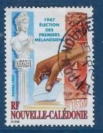 """Nle-Caledonie YT 738 """" Election """" 1997 Oblitéré - Neukaledonien"""