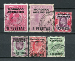 Great Britain Post In Marokko Ex.Nr.23/31           O  Used      (1256) - Oficinas En  Marruecos / Tanger : (...-1958